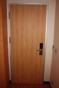 Двери с металлической коробкой